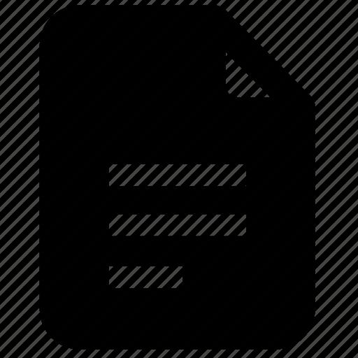 document, file, pdf, text, written icon