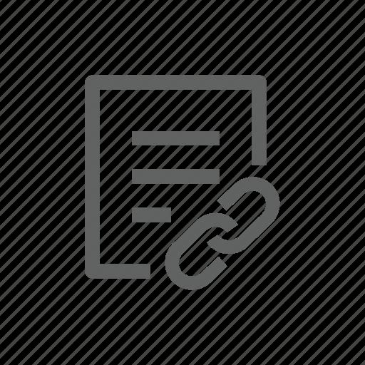 attach, attachment, clip, document, enclosement, file, paper clip icon