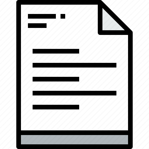 business, document, file, page, paper, report icon