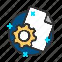 document, file, report, setting