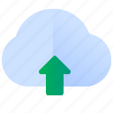 cloud, storage, upload icon