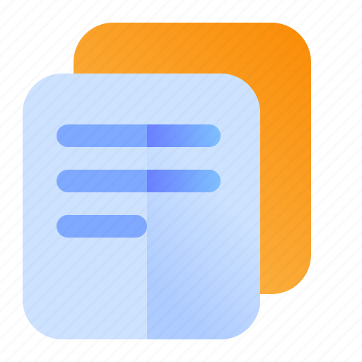 Copy, files, paste icon - Download on Iconfinder