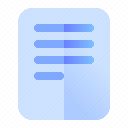 Document, file, paper, report icon - Download on Iconfinder