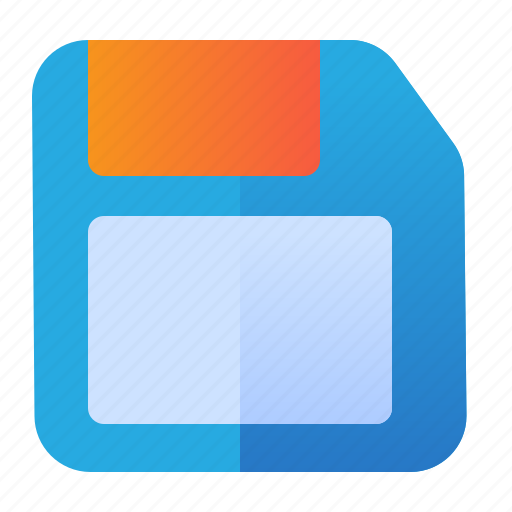 disk, memory, save, storage icon