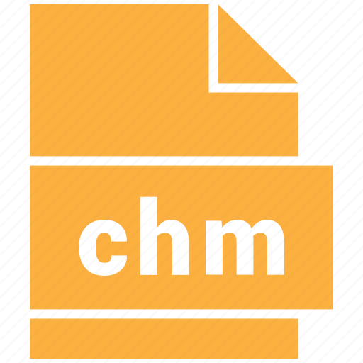chm, document file format, mime type icon