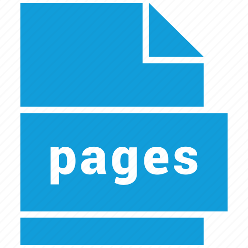 document file format, file, pages, type icon