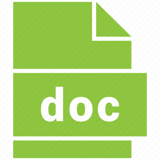 doc, document file format, microsoft word document icon