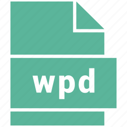 document, document file format, file, wpd icon
