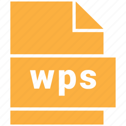 document file format, wps icon