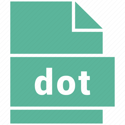 document, document file format, dot, file, format, type icon