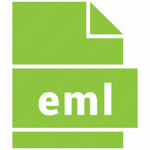 document file format, eml, extension, file, format icon