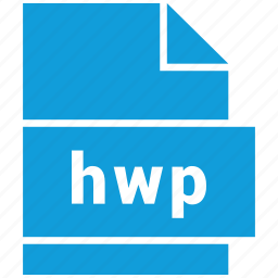 document, document file format, file, format, hwp, type icon