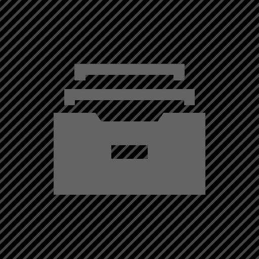 archive, box, doc, document, file icon