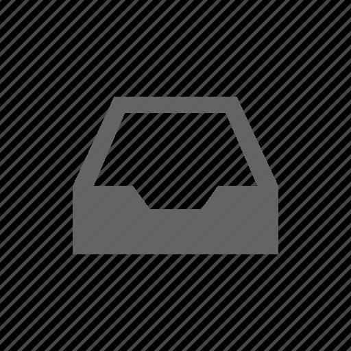 box, document, tray icon