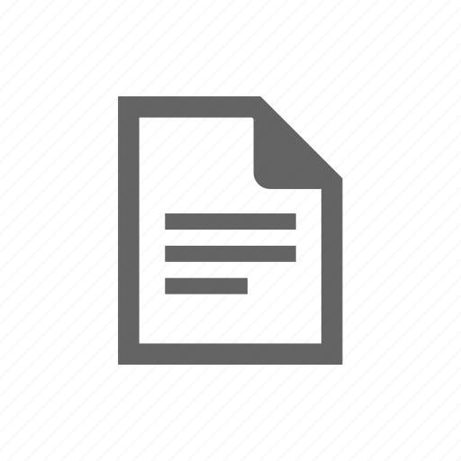doc, document, file, new, page, script icon