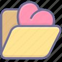 archive, favorites, folder icon