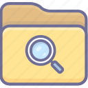 browse, folder, serach icon