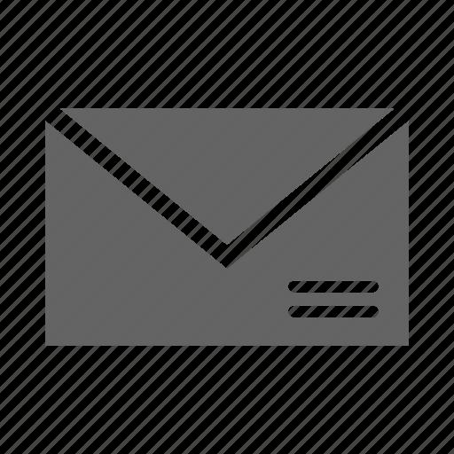 communication, data, document, envalope, information, office icon