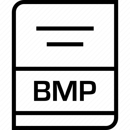 bmp, document, extension icon