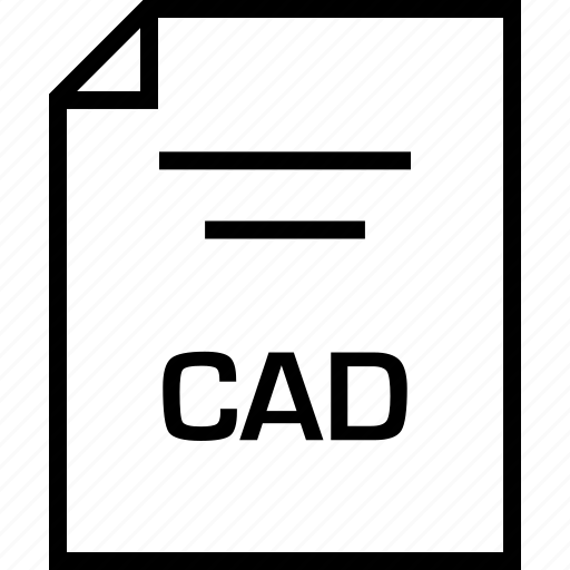 cad, document, extension icon