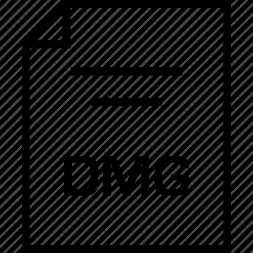 dmg, document, extension icon