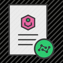 account, analysis, data, document, profile, statistics, user icon