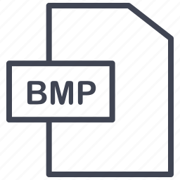 bmp, document, extension, file, format, paper icon