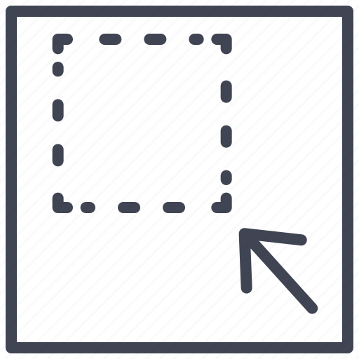 arrow, document, documents, minimize, square icon