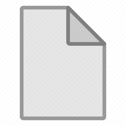 blank, document, extension, file, format, hovytech, type icon