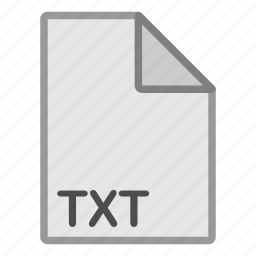 document, extension, file, format, hovytech, txt, type icon