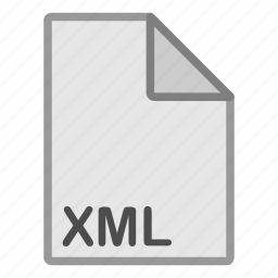 document, extension, file, format, hovytech, type, xml icon