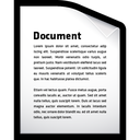 document, file, word icon