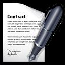 contract, document, edit, write