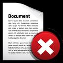 delete, document
