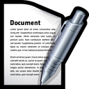 edit, write, create, document, word icon