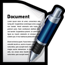 write, document, word, file icon