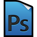 adobe, file, photoshop icon
