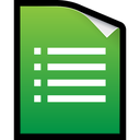 docs, google, xls, spreadsheet, form icon