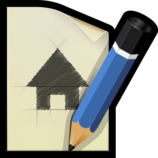 document, draw, plan, sketch icon