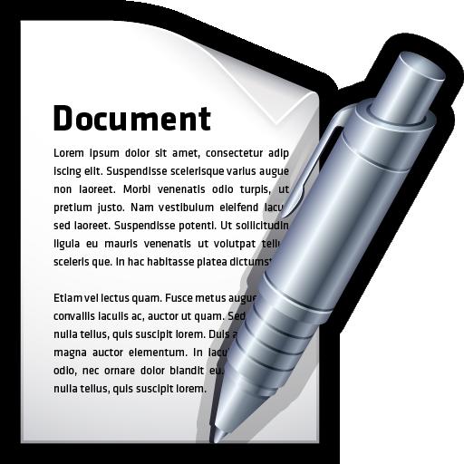create, document, edit, word, write icon