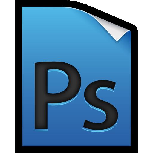 adobe, file, photoshop icon
