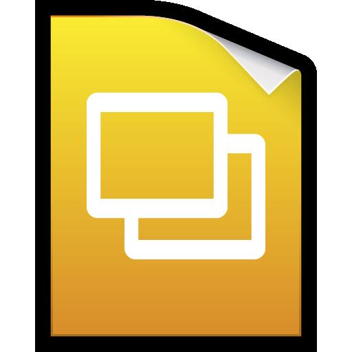 docs, google, keynotes, presentation, slides icon