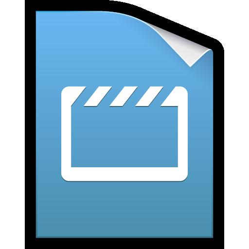 clip, docs, google, movie, video icon