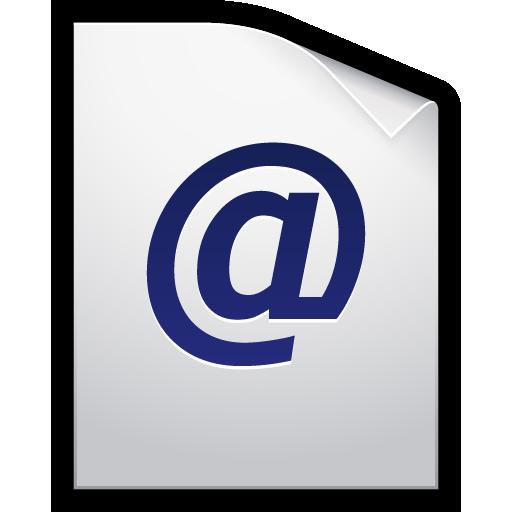 email, location, mac, url, web icon