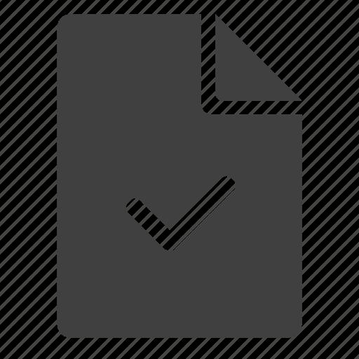 allow, check, checked, checkup, ok, revision, test icon