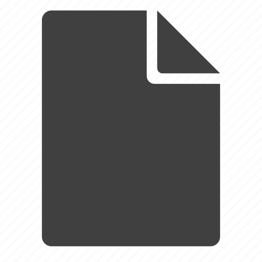 blank, doc, document, paper, piece of paper, sheet icon