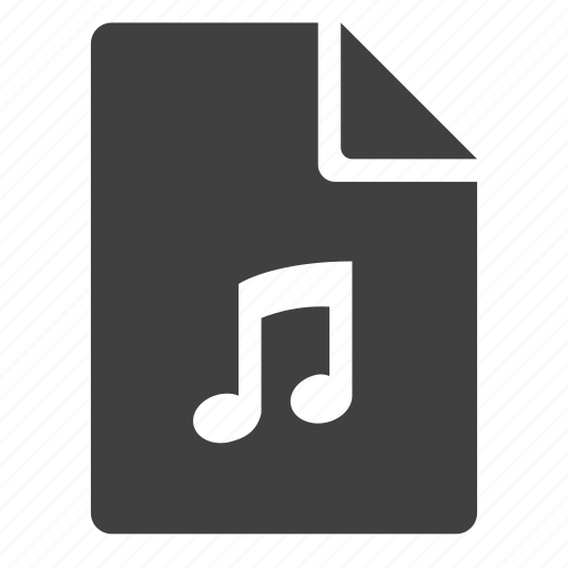 document, music, music note, note icon