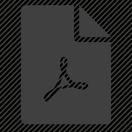 acrobat, adobe, doc, document, page, pdf icon