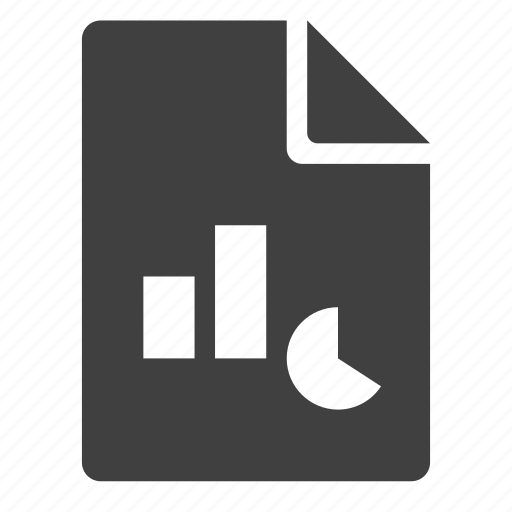 chart, diaram, document, graph, power point, ppt, presentation icon