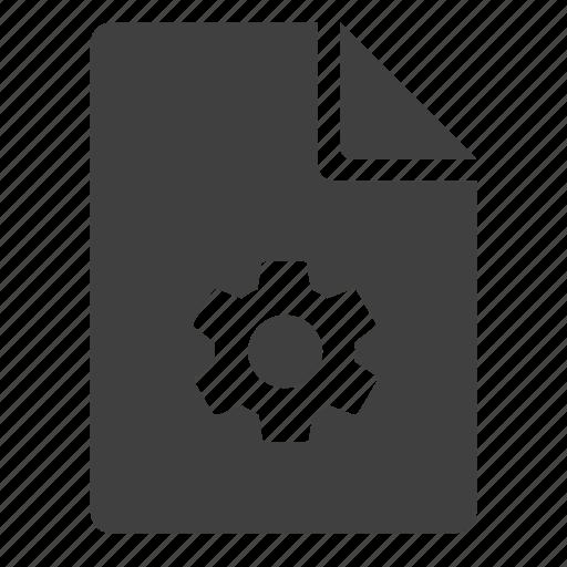 doc, document, preferences, settings, tuning, utilites icon